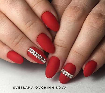 Manicure Red Cute Ideas