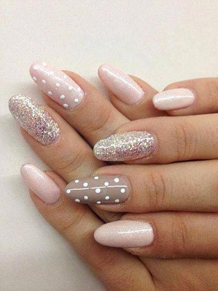 Cute Glitters, Gel Pink Pastel Pretty