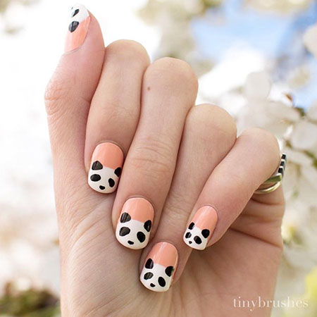 Cute Style, Panda Easter Polish