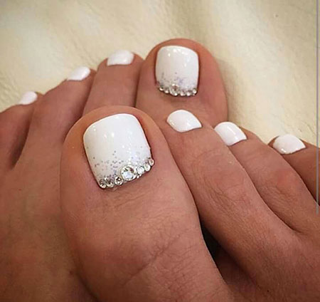 Glittered Style, Toe Wedding Pedicures Christmas