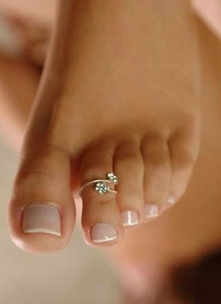 Pure Toe Nail Design, Toe Bridal Pedicure Pedicures