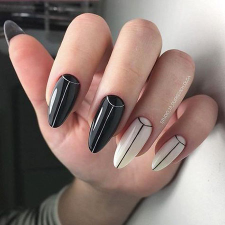 Classy Nail Design, Stiletto Manicure Fashion