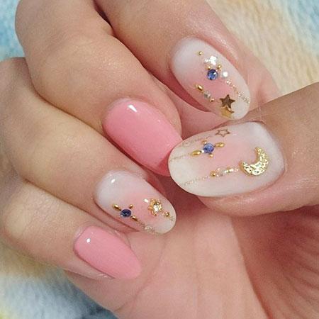 Cute Manicure Funky Details