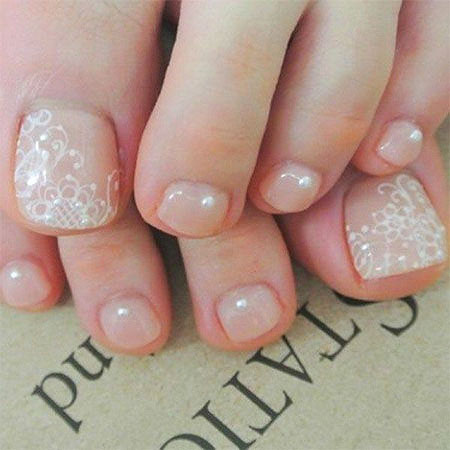 Toe Nude Bridal But