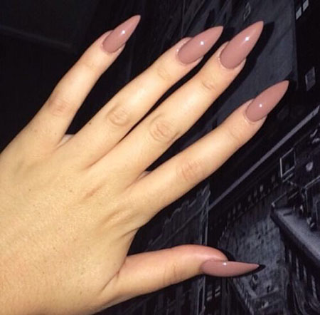 Stiletto Manicure But Color