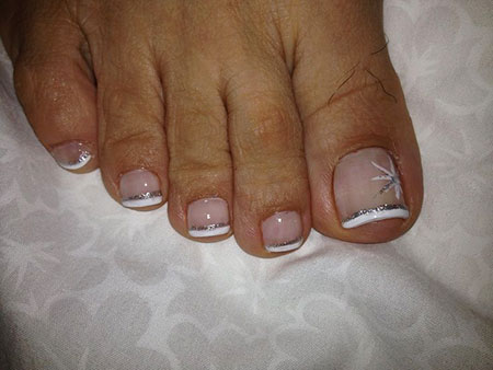 French Manicure Toe Kids
