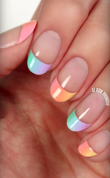 Manicure French Chic Cute