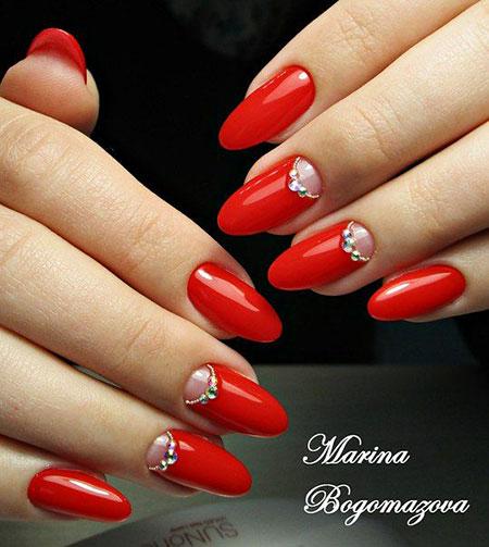 Manicure Paznokcie Unghie Red