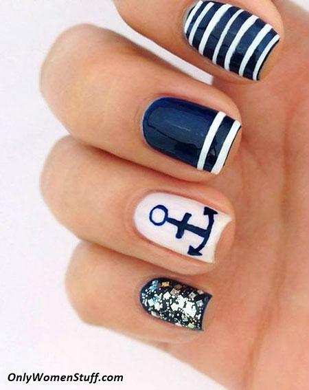 Summer Anchor Navy Home