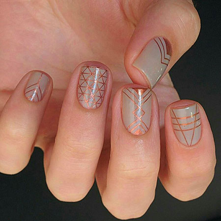 Geometric Nail Art, Ideas London Shapes Geometric