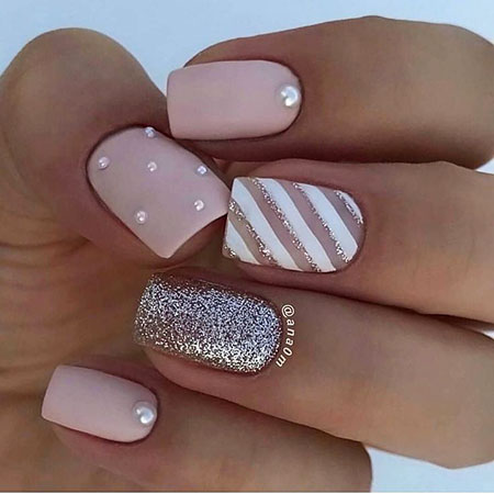 Sparkle Nail Art Design, Manicure Beautiful Sparkle