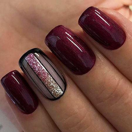 Manicure Gel Fall Coffin