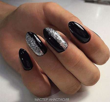 Manicure Black Best Winter