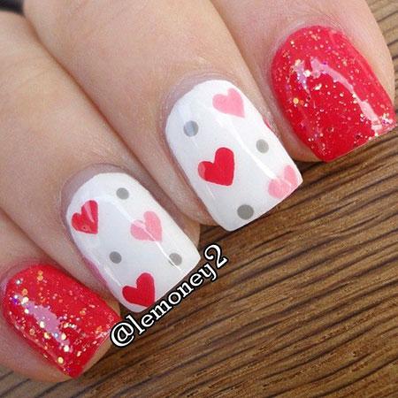 Valentine Valentines Day Dots