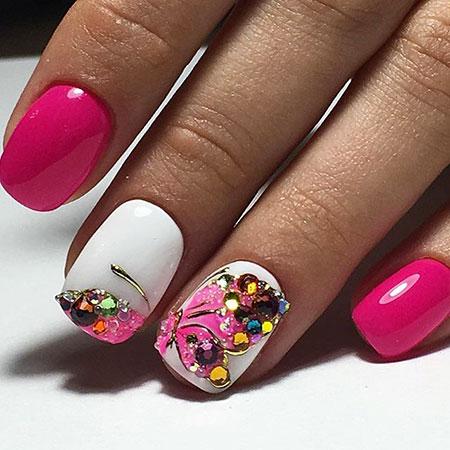 Manicure Spring Дизайн Pink