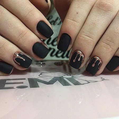 Black Manicure Matte New