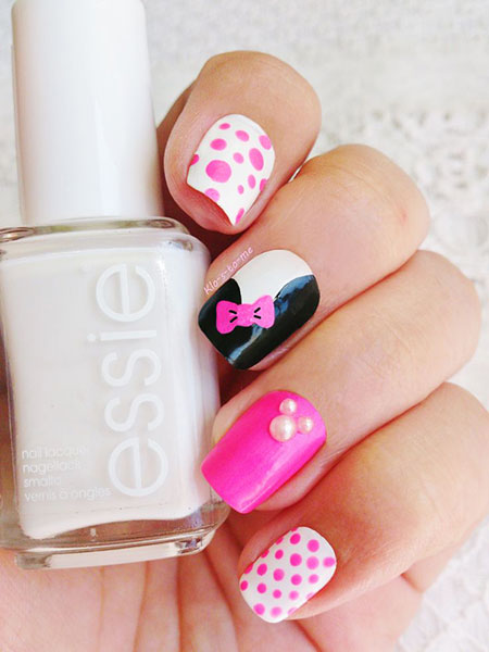 Pink Disney Dots Essie