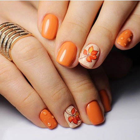 Manicure Shellac Autumn Summer