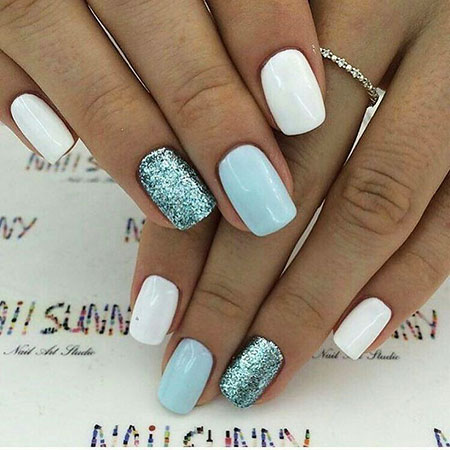 Manicure Ideas White Gel