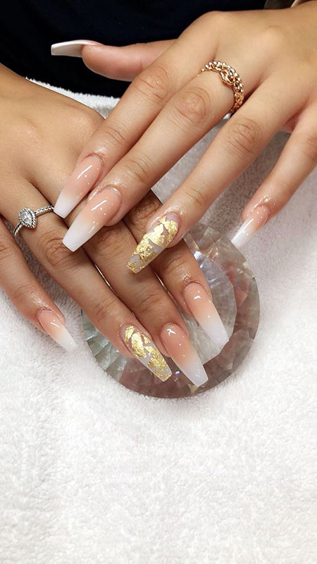 Long Cute Nageldesign Ongles