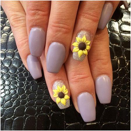 Manicure 3D Flower Matte