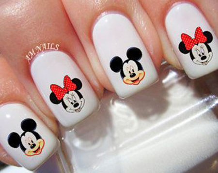 Decals Disney Manicure Mouse