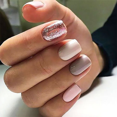 Short Nail Colors, Winter Manicure Colors Popular