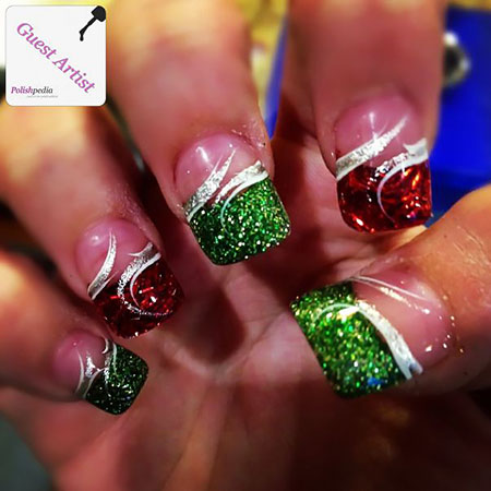 Christmas Acrylic Sparkle Holiday
