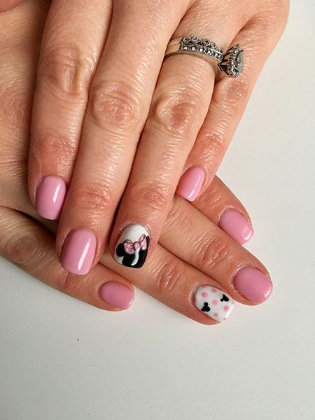 Mouse Minnie Manicure Disney