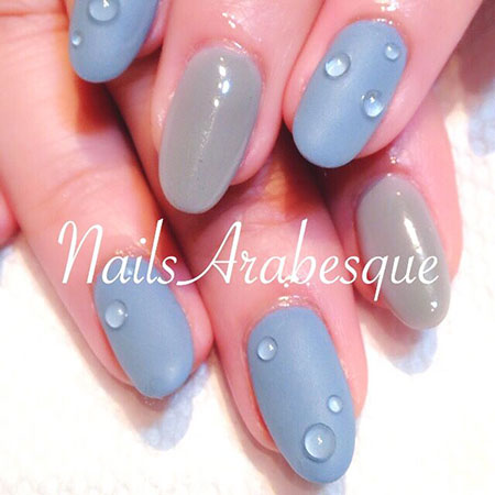 Cute Water Nail Design, Water Manicure Lulus Blog