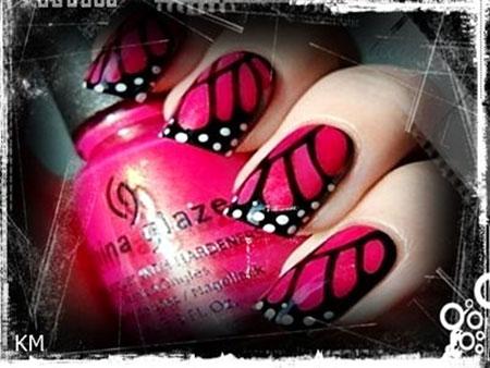 Butterfly Pink Butterflies Wing