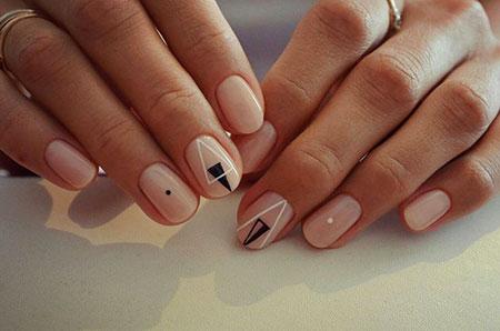 Geometric Manicure Minimalist Манікюр