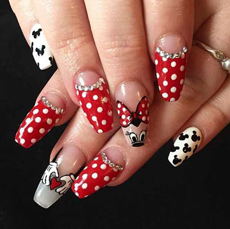 Mouse Minnie Good Manicure