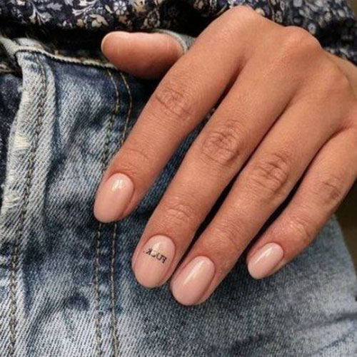 Perfect Manicure For Short Nails