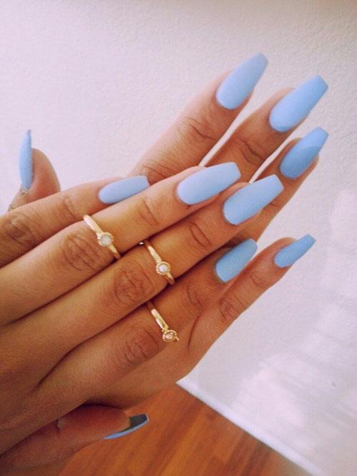 Cute Nails Blue