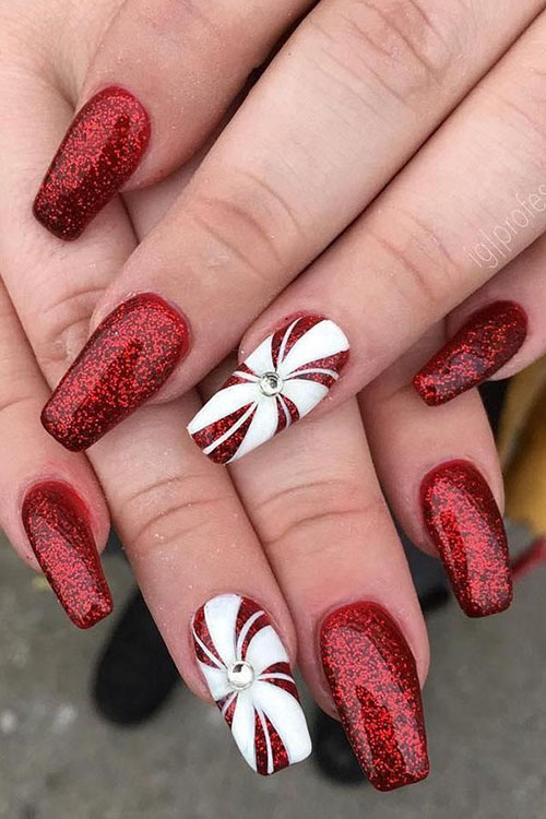 Pics Of Christmas Nails