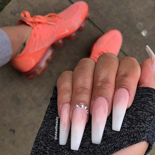 False Nails With Gems
