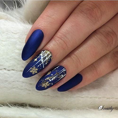 Cute Blue Nails