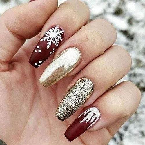Cool Christmas Nails
