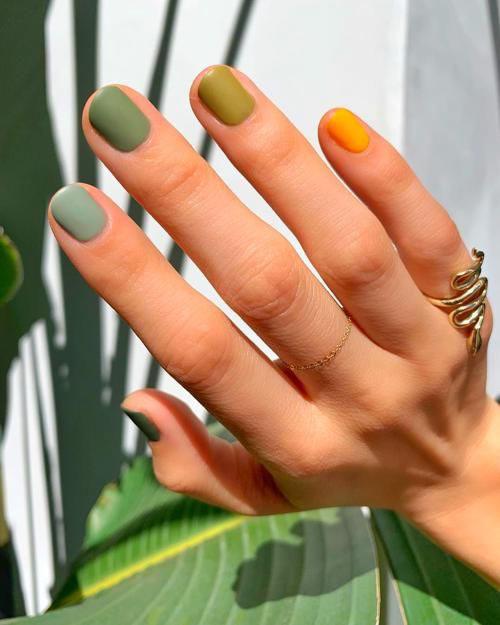 Multi Colored Nails Trend
