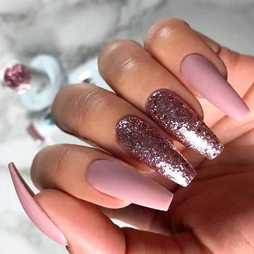 Skinny Ballerina Nails