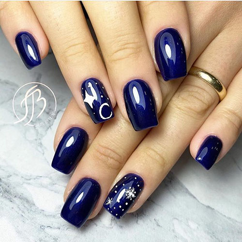 Cute Blue Nail Ideas