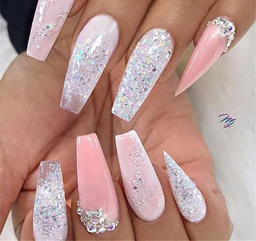 Ballerina False Nails