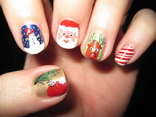 Images Of Christmas Nails