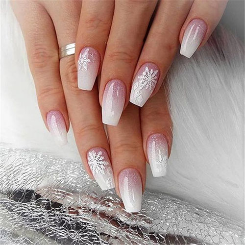 Acrylic Nails Winter
