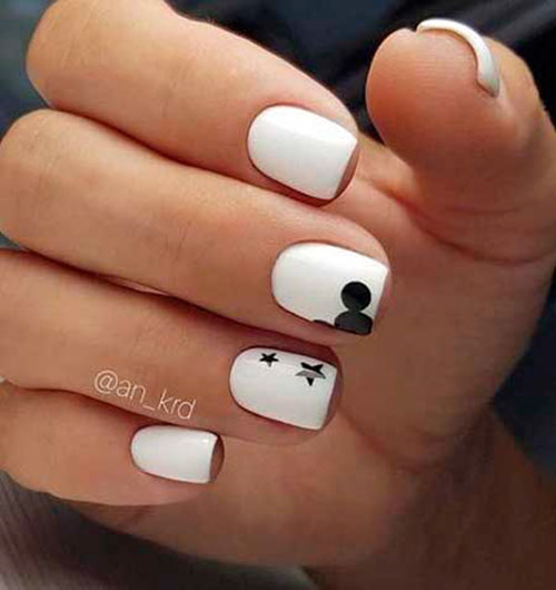 Short Cute Nail Designs