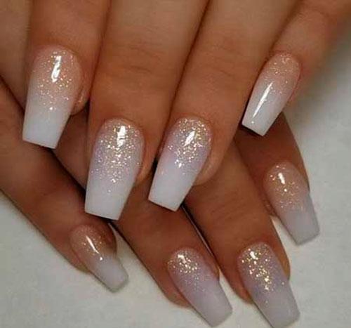 Acrylic Winter Nails