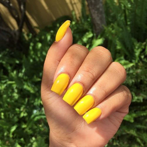 Short Acrylic Square Nails