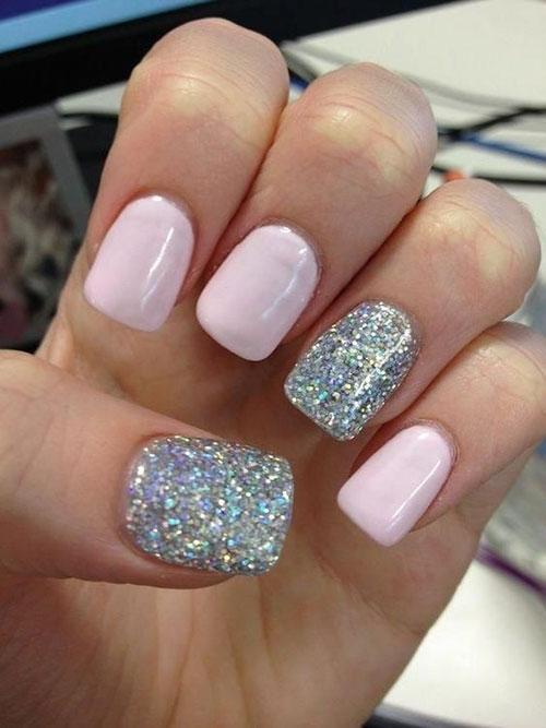 Square Short Acrylic Nails