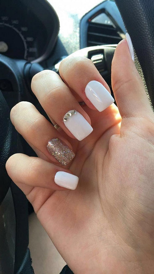 Tapered Square Nails Short